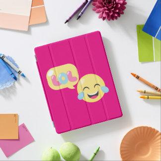 LOL Emoji Bubble iPad Cover
