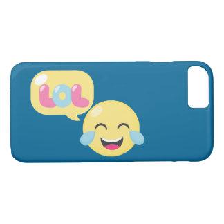 LOL Emoji Bubble iPhone 7 Case