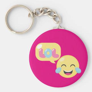 LOL Emoji Bubble Keychain