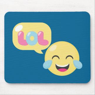 LOL Emoji Bubble Mouse Pad
