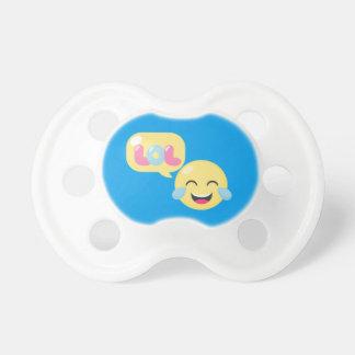 LOL emoji bubble Pacifier