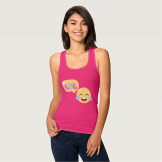 LOL Emoji Bubble Tank Top