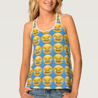 LOL Emoji Pattern Tank Tank Top
