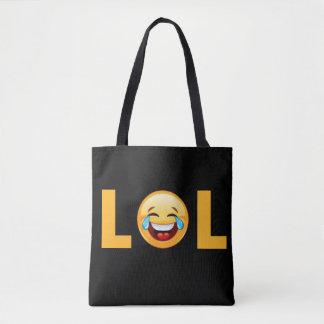 LOL EMOJI TOTE BAG