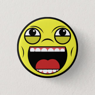 LOL Face 1 Inch Round Button