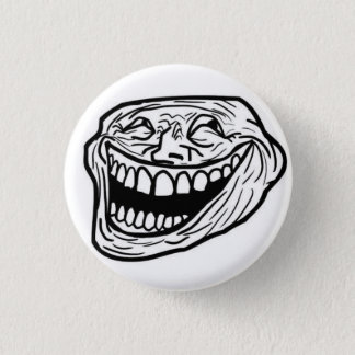 LOL face badge 1 Inch Round Button