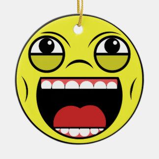 LOL Face Ceramic Ornament
