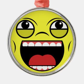 LOL Face Metal Ornament