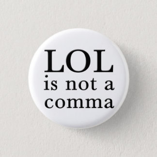 LOL Is not a comma button