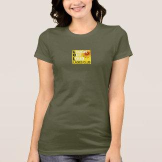 LOL Ladies Club T-Shirt - Small Logo Center Front