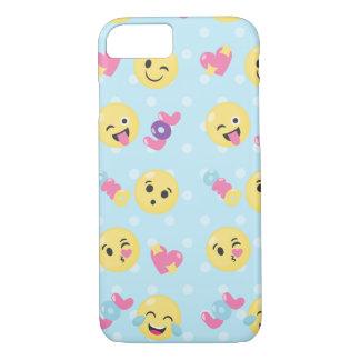 LOL OMG Emoji Pattern iPhone 8/7 Case