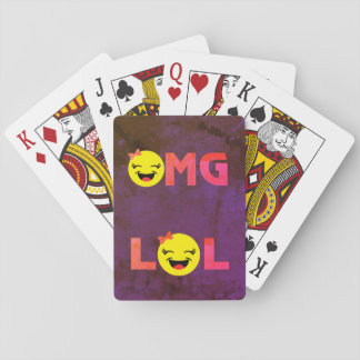 LOL OMG Emoji Playing Cards