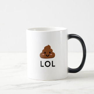LOL Poop Emoji Mug