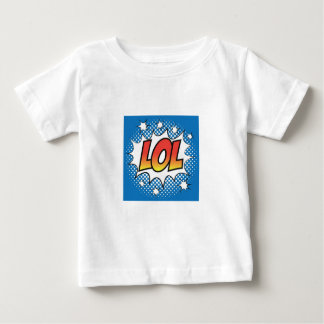 LOL pop art fun t-shirt, jazzy and catchy! Baby T-Shirt