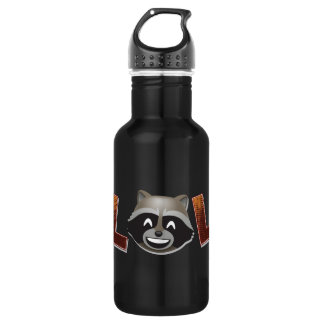 LOL Rocket Emoji 532 Ml Water Bottle