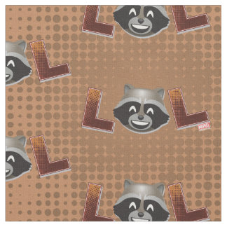 LOL Rocket Emoji Fabric