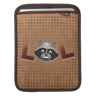 LOL Rocket Emoji iPad Sleeve
