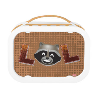 LOL Rocket Emoji Lunch Box
