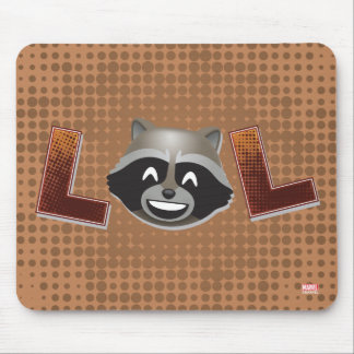 LOL Rocket Emoji Mouse Pad