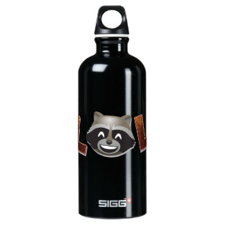 LOL Rocket Emoji Water Bottle