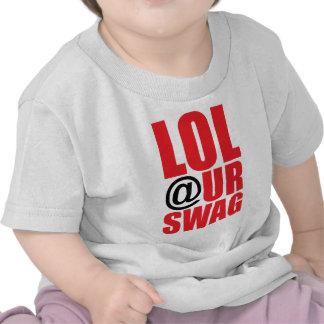 LOL UR SWAG T-SHIRTS
