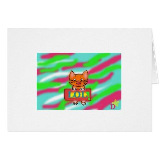 LOL Warrriorcats Card