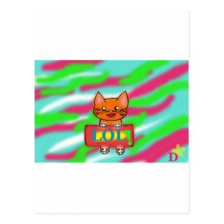LOL Warrriorcats Postcard