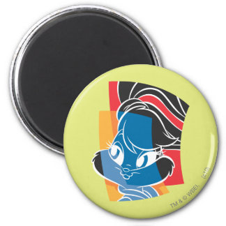Lola Bunny Expressive 4 2 Inch Round Magnet
