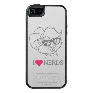 Lola Bunny - I Heart Nerds 2 OtterBox iPhone 5/5s/SE Case