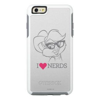 Lola Bunny - I Heart Nerds 2 OtterBox iPhone 6/6s Plus Case