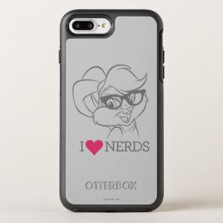Lola Bunny - I Heart Nerds 2 OtterBox Symmetry iPhone 7 Plus Case