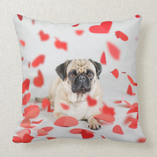 Lola in Love Throw Pillow