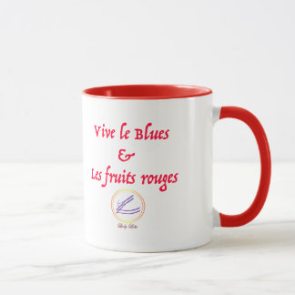 Lola lady - Lives the red Blues and fruits Mug