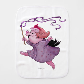 LOLA PIG Burp Cloth