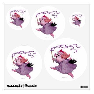 LOLA PIG WALL DECOR Circle Multiple