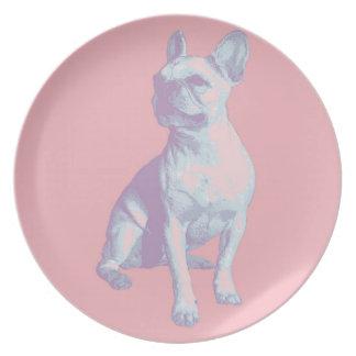 Lola the French Bulldog Plate