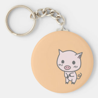 Lola the Pig Keychain