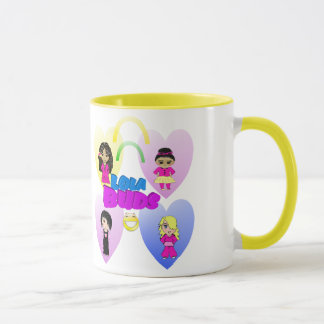 lolabudshearts, LAUGH, OFTEN, LOVE, ALWAYS Mug
