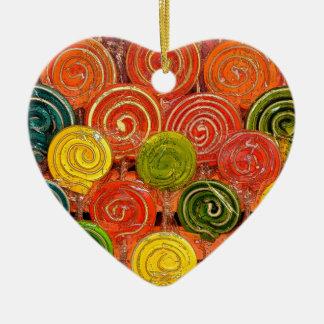 Loli Ceramic Heart Ornament