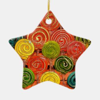 Loli Ceramic Star Ornament