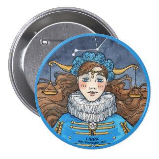 Lolita Zodiac: Libra 3 Inch Round Button