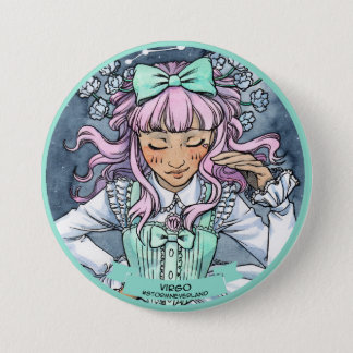 Lolita Zodiac: Virgo 3 Inch Round Button