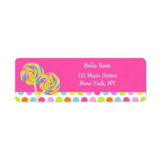 Lollipop Address Labels