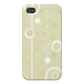 Lollipop Beige - i Cover For iPhone 4