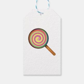 Lollipop Candy - Emoji Gift Tags
