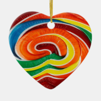 Lollipop Heart Ornament