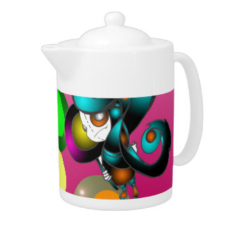 Lollipop Kid Teapot