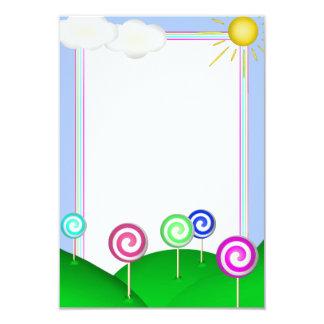 Lollipop land card