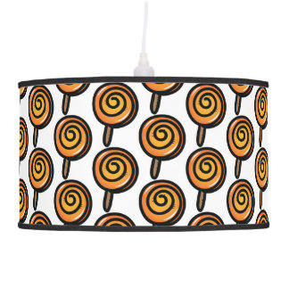 Lollipop pattern pendant lamp