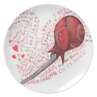 Lollipop Plate